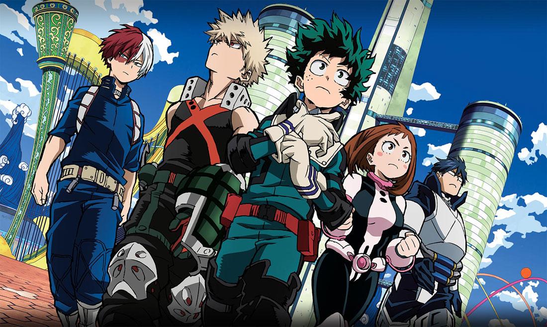 My Hero Academia Two Heroes Movie New Characters Revealed Animematch Com
