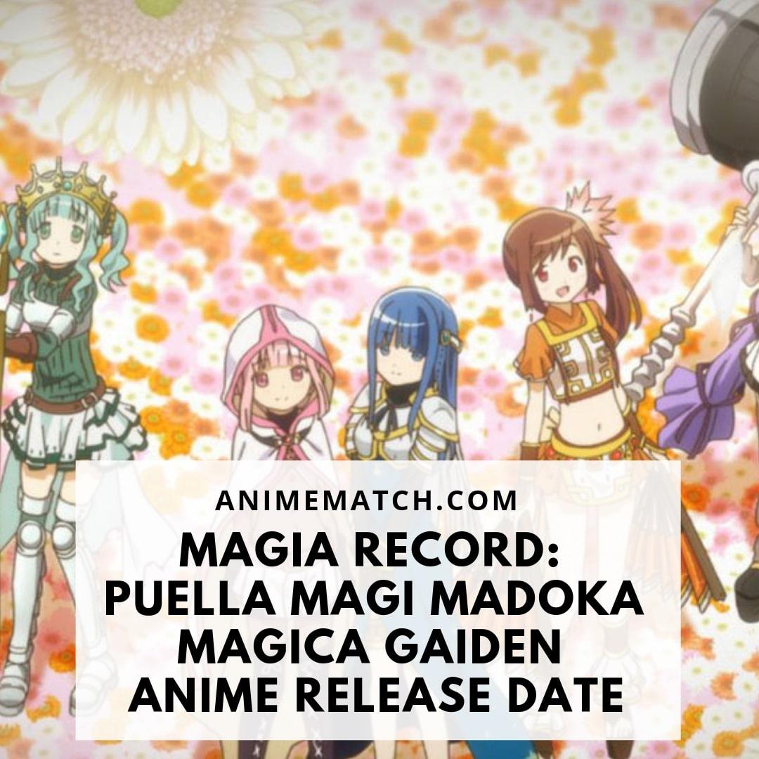Magia Record: Puella Magi Madoka Magica Gaiden Anime Release Date
